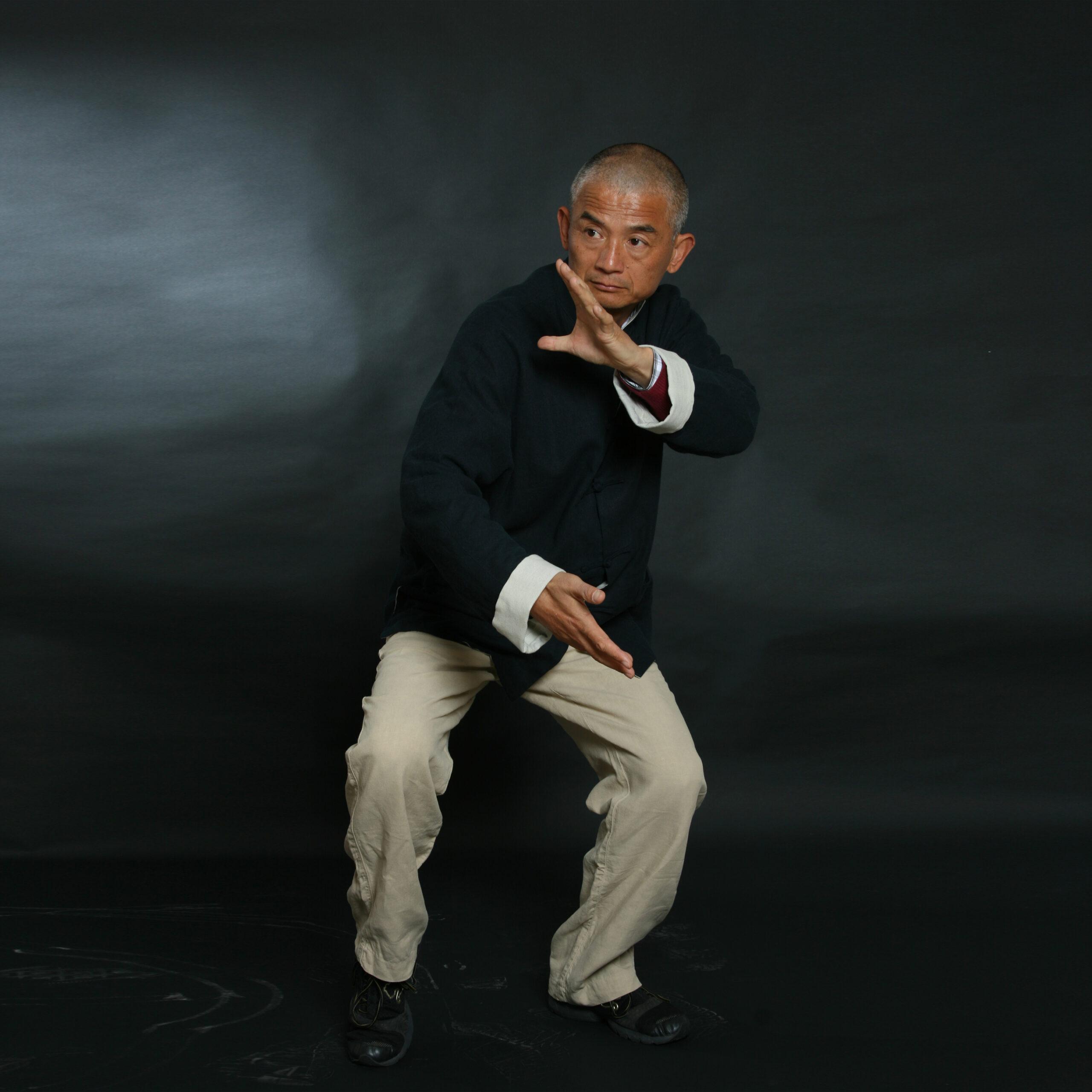 Il maestro Wang pratica Taijiquan
